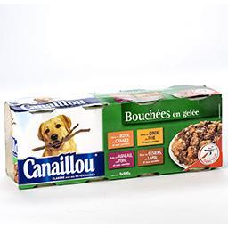Bouchées en gelée pour chiens - 4 variétés