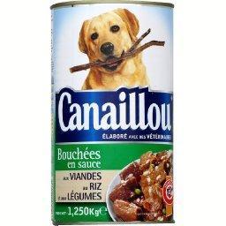 Viandes riz légumes, aliment pour chiens