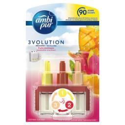 3Vol Recharges pour Désodorisant Électrique Fruits E...