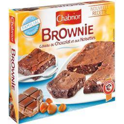 Brownie, gâteau au chocolat et aux noisettes