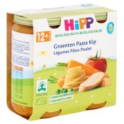 Légumes pâtes poulet - 12 mois