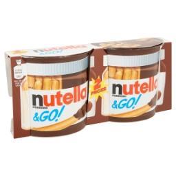 Nutella&Go! Bâtonnets céréaliers dorés au four