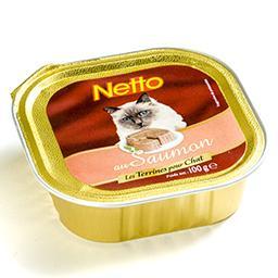 Aliment complet pour chat - au saumon - les terrines...
