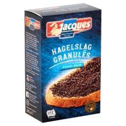 Granulés de chocolat noir