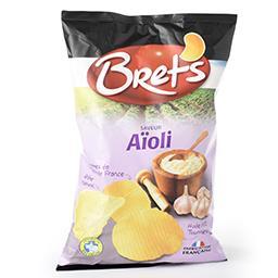 Chips - saveur aïoli - pommes de terre de France - a...