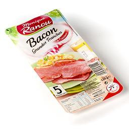 Bacon fumé - grandes tranches