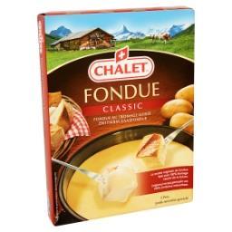 Chalet - fondue au fromage suisse - classic