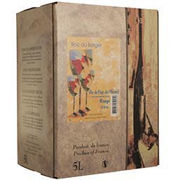 Vin de pays de l'hérault - vin rouge