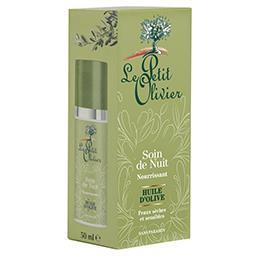 Soin de nuit - nourrissant - huile d'olive - peaux s...