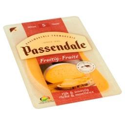 Fruité - fromage doux et moelleux - 5 tranches