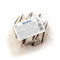 Marbré - gâteau fourré abricots et végécao