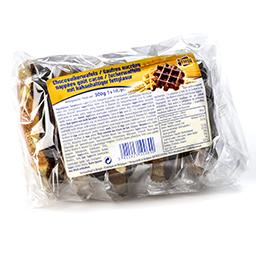 Gaufres sucrées nappées goût cacao