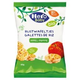 Myam bio mini galettes de riz - pomme - 8 mois