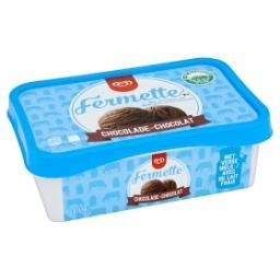 Fermette - crème glacée au chocolat