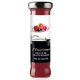 L'Exceptionnel coulis de fruits rouges 75% de fruit
