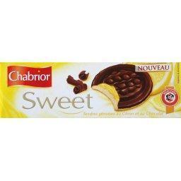 Sweet, tendres génoises au citron et au chocolat