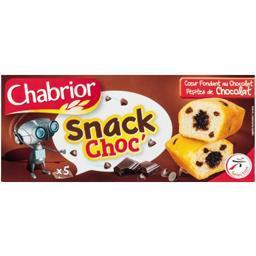 Gâteau snack choc' coeur fondant au chocolat