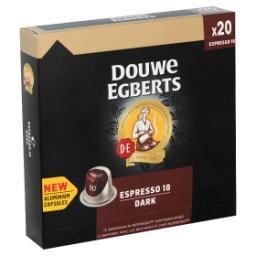 Espresso 10 Dark 20 Aluminium Capsules