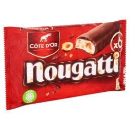 Nougatti - barre de chocolat enrobée de chocolat au ...
