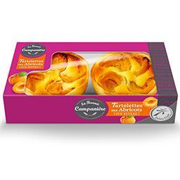 Tartelettes aux abricots pur beurre