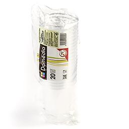 Gobelet plastique cristal - 25cl