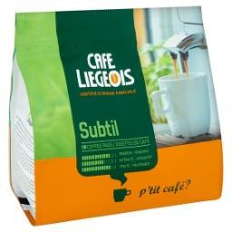 Dosettes de café - subtil - rondeur - intensité - fr...