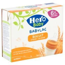 Babylac - lait de suite avec céréales - saveur biscu...