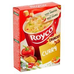 Minute soup crunchy curry - soupe déshydratée - 3 sa...
