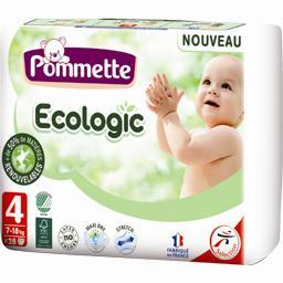 Couches ecologic, 7-18 kg