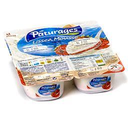 Lissea mousse - spécialité laitière au fromage frais...