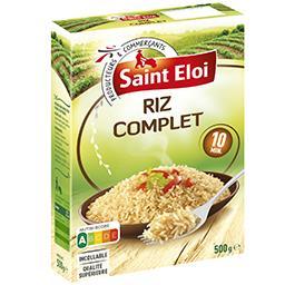 Riz long grain complet étuvé de qualité supérieure, ...