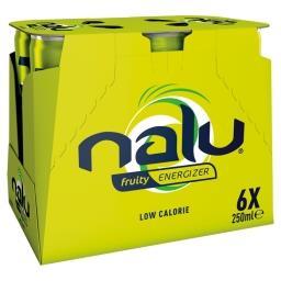 Fruity Energizer 6 x 250 ml