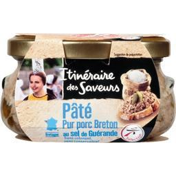 Pâté pur porc breton au sel de guérande