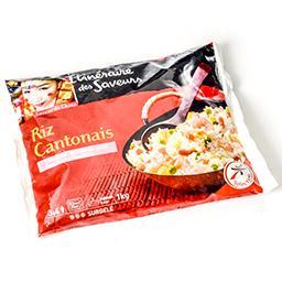 Riz cantonais - omelette, épaule de porc fumée et cr...