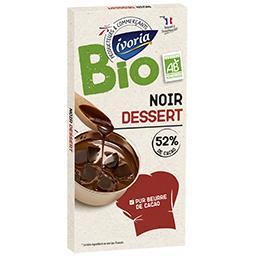 Chocolat noir dessert BIO