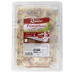 Piémontaise au jambon supérieur & tomates fraîches