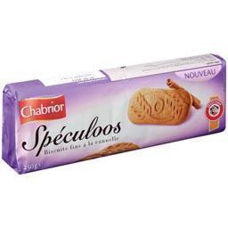 Spéculoos, biscuits fins à la cannelle