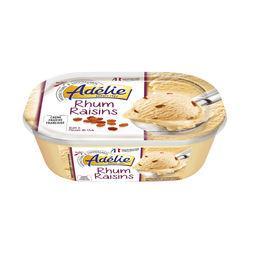 Crème glacée - rhum raisin