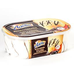Stracciatella - sauce et morceaux de chocolat