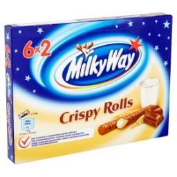 Crispy rolls - gaufrettes roulées enrobées de chocol...