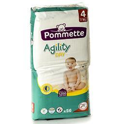 Langes agility dry - taille 4 - 7 à 18kg