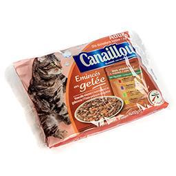 Repas complet pour chats adultes - émincés en gelée ...