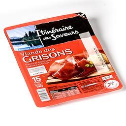 Viande des grisons - viande de bœuf salée et séchée ...