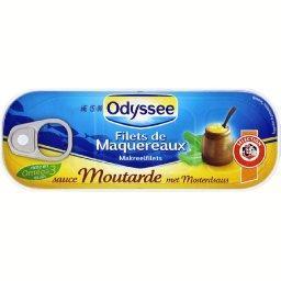 Filets de maquereaux sauce moutarde