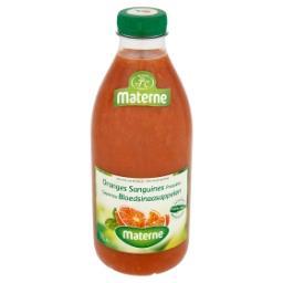 Oranges sanguines pressées - 100% pur jus de fruits