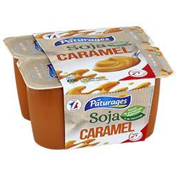 Dessert végétal Soja caramel