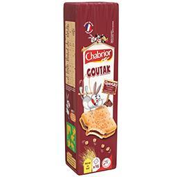 Biscuits Goutak chocolat