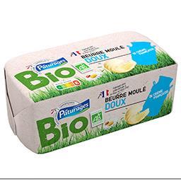 Beurre moulé doux - bio