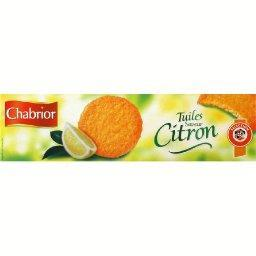 Tuiles saveur citron