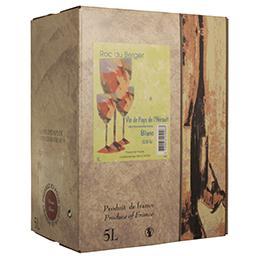 Vin de pays de l'hérault - vin blanc